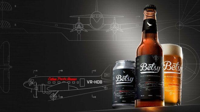 Betsy Beer, la cerveza de Cathay Pacific, llega más lejos