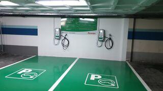 Alcampo incorpora puntos de recarga eléctrica en Vigo