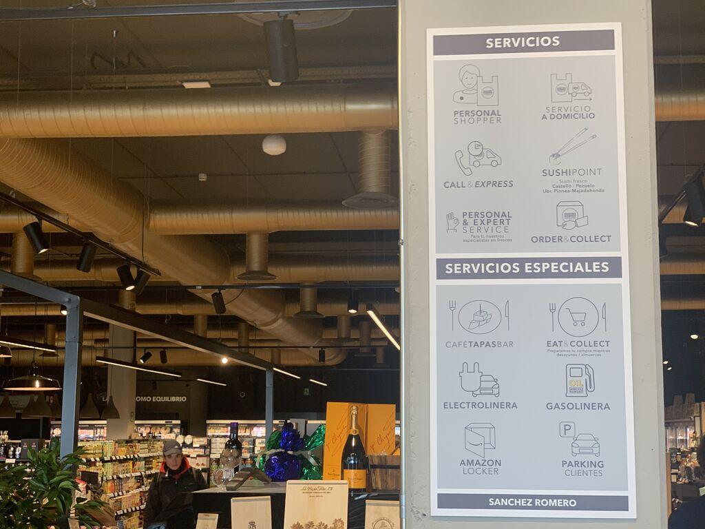 La tienda está concebida como un hub de servicios: la vanguardia en food retail