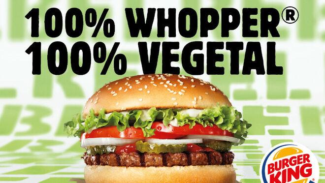 Burger King lanza con Unilever su primera hamburguesa vegetal