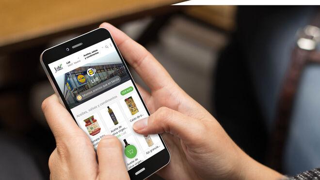 Lidl amplía su venta online de alimentación a Barcelona y Valencia