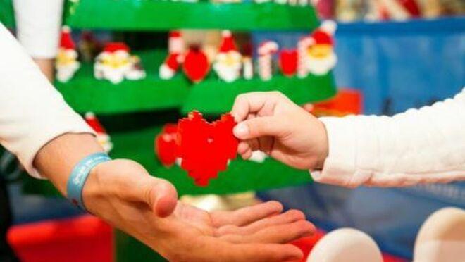El Corte Inglés y Lego: solidarios en Navidad con la Fundación Aladina