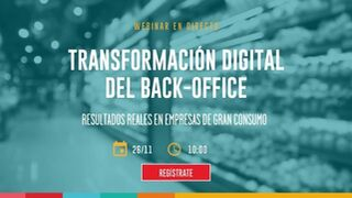 Transformación digital del back-office