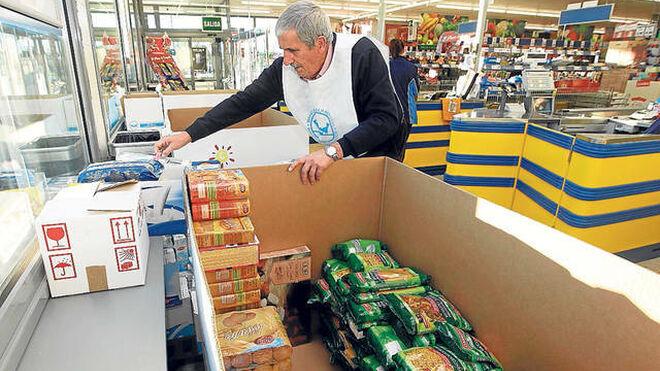 La gran recogida de alimentos vuelve a los supermercados