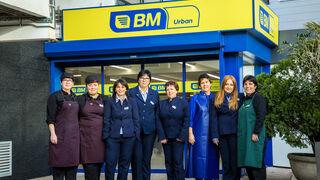 BM reabre su supermercado de Zarautz (Guipúzcoa)