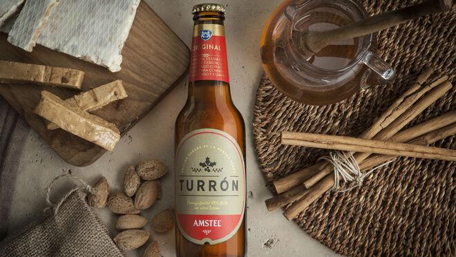 Amstel Turrón, el sabor de la Navidad en formato cerveza