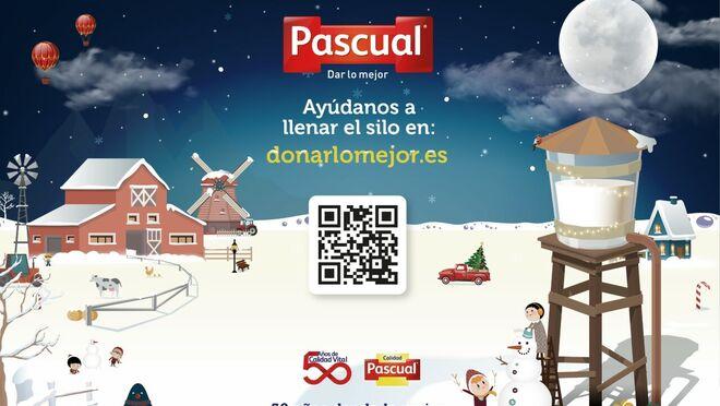 Pascual, solidaria en Navidad con la campaña #DonarLoMejor