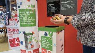 Eroski extiende a toda su red el reciclaje de cápsulas de café