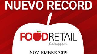 FoodRetail & Shoppers pulveriza su récord en noviembre