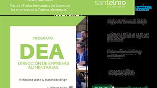 Programa de Dirección de Empresas Alimentarias de San Telmo Businness School en Logroño
