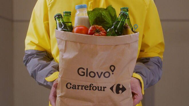 Carrefour y Glovo amplían su alianza en España a 11 ciudades