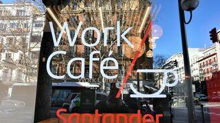 Work Café del Banco Santander
