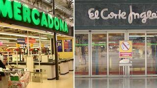 El Corte Inglés y Mercadona: el retail con más éxito