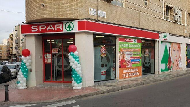 Spar lleva su modelo eficiente al nuevo súper de Alicante