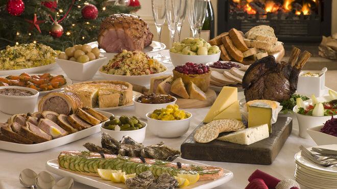 Cinco bulos sobre alimentos típicos en Navidad