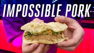 Impossible Foods dobla la apuesta: carne de cerdo y chorizo veganos