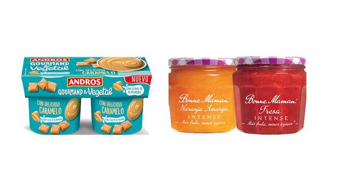 Andros Gourmand & Vegetal y Bonne Maman Intense, dos innovaciones premiadas como 'Producto del año'