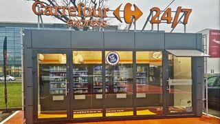El súper automatizado de Carrefour llega a Varsovia