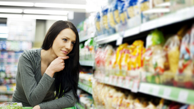 Menos premium y más saludable: así es la cesta de la compra en enero