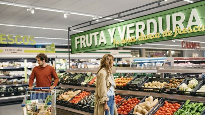 Fruta y verdura ganan peso en la cesta de la compra