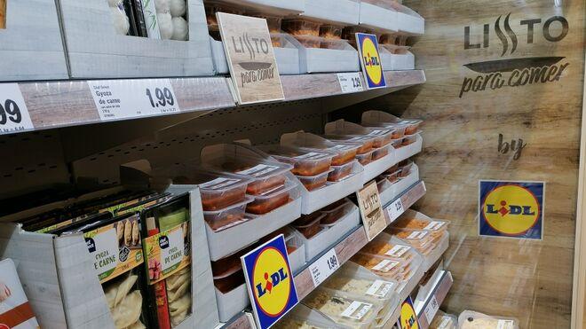 Lidl lanza su 'Listo para comer' low cost: menú del día por 3 euros