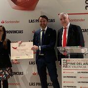 Zummo, galardonada en los premios Pyme del año Valencia 2019