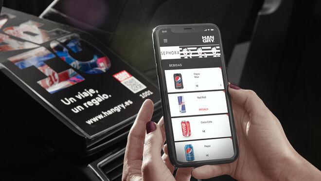 Hangry, la app apadrinada por Roig que quiere convertir los VTC en supermercados móviles