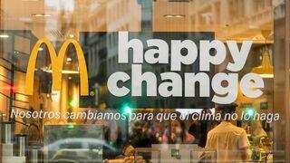McDonald's retira las pajitas de plástico de todos sus restaurantes en España