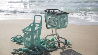 Araven lanza  'Oceanis': cestas y carros con materiales de pesca reciclados para preservar los mares