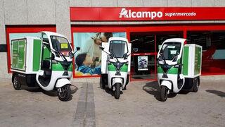 Alcampo incorpora vehículos Revoolt para su entrega a domicilio sostenible