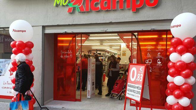 Mi Alcampo abre su segunda tienda en Barcelona