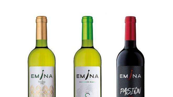 Emina renueva la imagen de tres de sus vinos