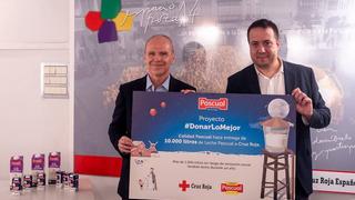 Pascual entrega 10.000 litros de leche conseguidos en la campaña #DonarLoMejor