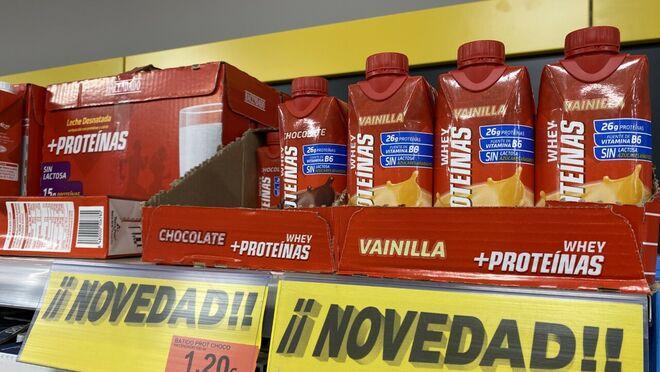 Mercadona y Carrefour compiten por las proteínas para deportistas
