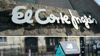El Corte Inglés repartirá comida a domicilio con Deliveroo