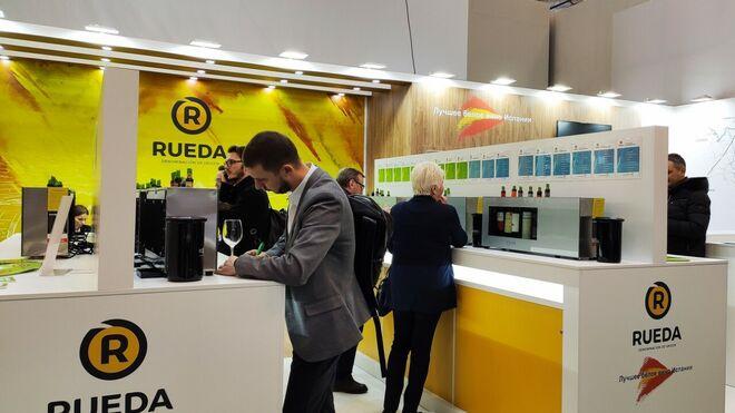 La D.O. Rueda se promociona en la mayor feria alimentaria de Rusia