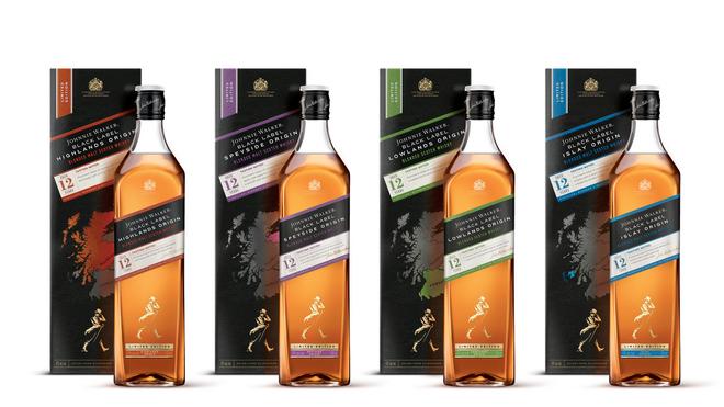 Johnnie Walker explora Escocia con una nueva serie limitada