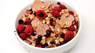 Alerta alimentaria por un muesli con frutas procedente de España
