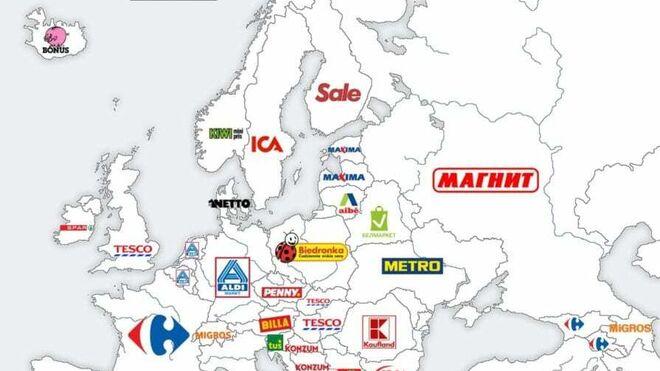 El mapa que pone a Spar por delante de Mercadona y enciende las RR.SS.