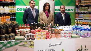 Covirán y Lanzaluz promocionan los productos de Andalucía