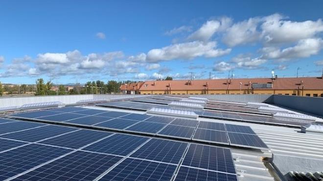 Masymas estrena su primera instalación fotovoltaica
