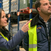 Mercadona pone en marcha su nuevo bloque logístico en Plaza