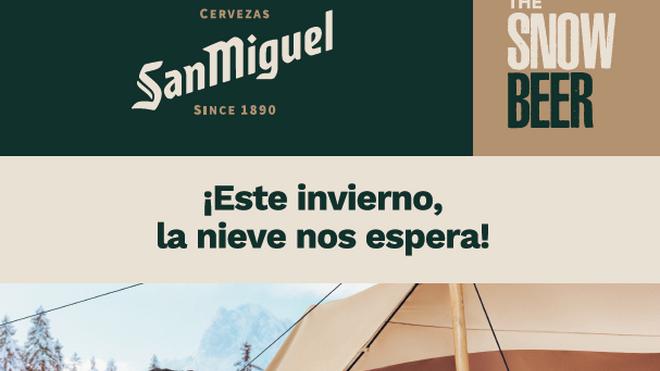 Cerveza y nieve, de nuevo en los Campamentos San Miguel