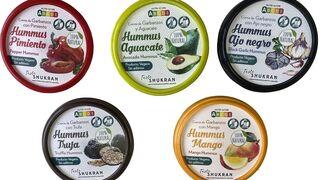 Carrefour distribuirá los distintas variedades de hummus de Taste Shukran