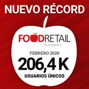 FoodRetail & Shoppers supera los 200.000 usuarios al mes