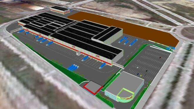 Grupo Mas inicia las obras de su planta logística de Guillena