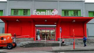 Vegalsa-Eroski abre un supermercado 'Familia' en Llaranes (Avilés)