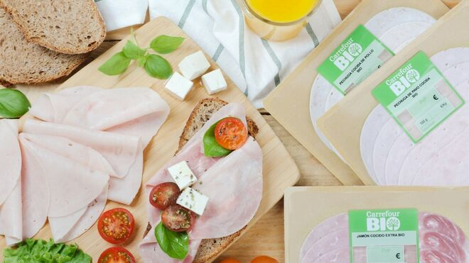 Carrefour presenta su nueva gama de charcutería ecológica