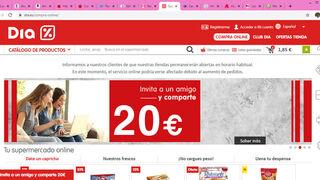 Coronavirus: retrasos y rotura de stock en la compra online