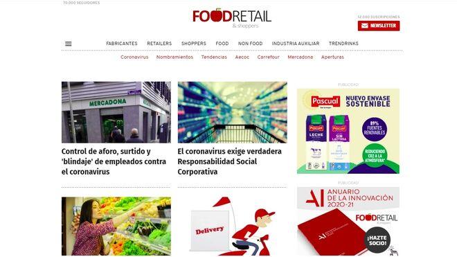 El equipo de FoodRetail & Shoppers,  100% operativo al servicio de lectores y clientes